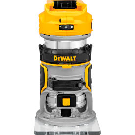 "dewalt® dcw600b 20v 1/4"" variable speed (0-16,000/0-25,500 rpm) cordless router (bare tool)"