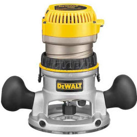 DW618 DeWALT; 2-1/4 HP EVS Fixed Base Router with Soft Start, DW618, 12.0 Amps, 8000-24000 RPM