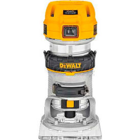 DWP611 DeWALT; 1-1/4 HP Max Torque Variable Speed Compact Router, DWP611, 7.0 Amps, 1600-27000 RPM