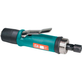 "52278 Dynabrade 52278 .7HP Straight-Line Die Grinder, 20,000 RPM, Gearless, Ext. Rear Exhaust, 1/4"" Collet"