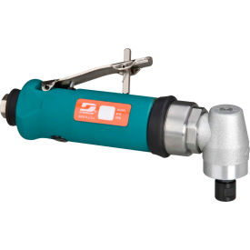 "54359 Dynabrade 54359 .7HP Right Angle Die Grinder, 18,000 RPM, Geared, Rear Exhaust, 1/4"" & 6MM Collets"