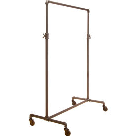 "PSBBADJ Econoco, Adjustable 2-Way Ballet Rack, PSBBADJ, 41""W x 44""-72""H x 22""D, Anthracite Grey"