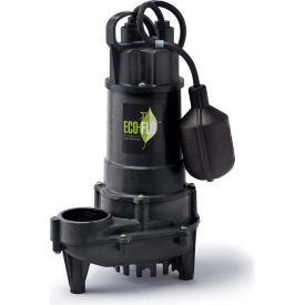 eco-flo ecd75w submersible sump pump, cast iron, 3/4 hp, 6000 gph Eco-Flo ECD75W Submersible Sump Pump, Cast Iron, 3/4 HP, 6000 GPH