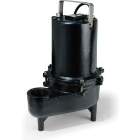 eco-flo ese50m submersible sewage pump, cast iron, 1/2 hp Eco-Flo ESE50M Submersible Sewage Pump, Cast Iron, 1/2 HP