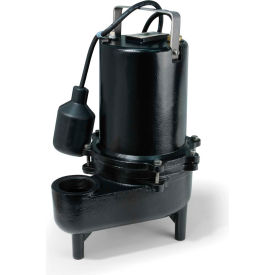 eco-flo ese50w submersible sewage pump, cast iron, 1/2 hp Eco-Flo ESE50W Submersible Sewage Pump, Cast Iron, 1/2 HP