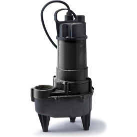 eco-flo rse50m submersible sewage pump, cast iron, 1/2 hp Eco-Flo RSE50M Submersible Sewage Pump, Cast Iron, 1/2 HP