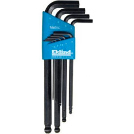 13609 Eklind 13609 1.5-10MM 9Pc. Ball End Metric Hex Key Set