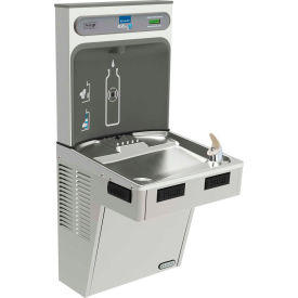 EMABFDWSSK Elkay EMABFDWSSK EZH2O Non Refregerated Water Bottle Refilling Station W/Single ADA Fountain SS