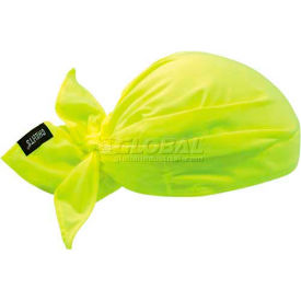 12331 Ergodyne Chill-Its; Evaporative Cooling Triangle Hat, Lime, 12331