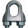 "EGC18 Elite Sales EGC18 1/8"" Zinc Plated Wire Rope Clip - Pack of 100"