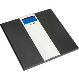 US180B Escali US180B Digital Sleek Bathroom Scale, 400lb x 0.2lb/180kg x 0.1kg, Stainless Steel Platform