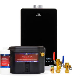 Eccotemp EL22i Indoor 6.8 GPM Natural Gas Tankless Water Heater Service Kit Bundle - EL22-iNGS