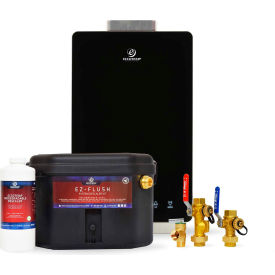Eccotemp i12 Indoor 4.0 GPM Liquid Propane Tankless Water Heater Service Kit Bundle - i12-LPS