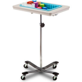 clinton™ 6901 one-bin mobile phlebotomy stand Clinton™ 6901 One-Bin Mobile Phlebotomy Stand