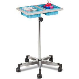 clinton™ 6902 two-bin mobile phlebotomy stand Clinton™ 6902 Two-Bin Mobile Phlebotomy Stand