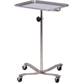 clinton™ ms-29 stainless steel mobile instrument stand Clinton™ MS-29 Stainless Steel Mobile Instrument Stand