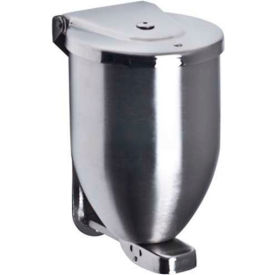 U115 A&J Washroom Powder Soap Dispenser U115, 32 Oz, Stainless Steel, Surface Mounted