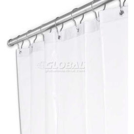 "UX250P-3672 A&J Washroom Shower Curtain UX250P-3672, 36""W x 72""H, Anti-Bacterial Vinyl"