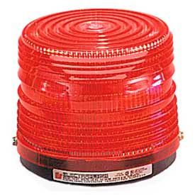 141ST-120R Federal Signal 141ST-120R Strobe light, 120VAC, Red