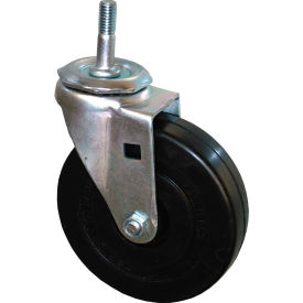 "rubbermaid® 5"" swivel stem caster with hardware includes (1) caster and (1) nut Rubbermaid® 5"" Swivel Stem Caster with Hardware Includes (1) Caster and (1) Nut"