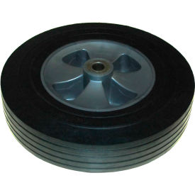 "rubbermaid® 12"" wheel with hardware includes (1) 12"" wheel, (2) washers, (1) axle nut Rubbermaid® 12"" Wheel with Hardware Includes (1) 12"" Wheel, (2) Washers, (1) Axle Nut"