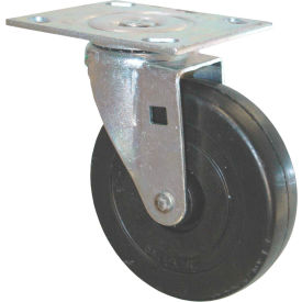 "rubbermaid® 5"" swivel plate caster replacement Rubbermaid® 5"" Swivel Plate Caster Replacement"