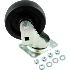 "rubbermaid® 4"" swivel plate caster for rubbermaid®utility truck Rubbermaid® 4"" Swivel Plate Caster for Rubbermaid®Utility Truck"