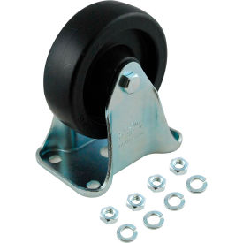 "rubbermaid® 4"" rigid plate caster for rubbermaid®utility truck Rubbermaid® 4"" Rigid Plate Caster for Rubbermaid®Utility Truck"