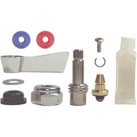 Fisher 3000-0001, Left Hand Swivel Stem Repair Kit, Polished Chrome