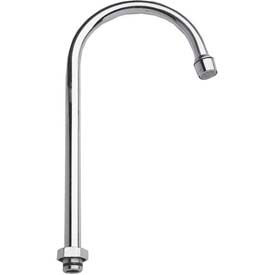 "Fisher 3968, 6"" Swivel Gooseneck Spout, Polished Chrome"