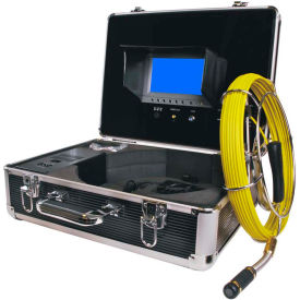 FB-PIC3188D-100 FORBEST FB-PIC3188D-100 Portable Color Sewer/Drain Camera, 100 Cable W/ Aluminum Case