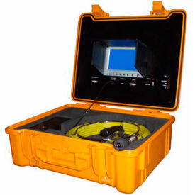 FB-PIC3188DN-100 FORBEST FB-PIC3188DN-100 Portable Color Sewer/Drain Camera, 100 Cable W/ Heavy Duty Waterproof Case
