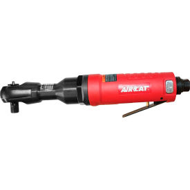 "aircat® 803-rw 3/8"" reaction-less ratchet 600rpm red"