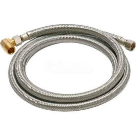 B6W72 Fluidmaster B6W72 Dishwasher Water Supply Connector 3/8 In. Compression X 72 In - Braided SS