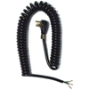 02551.70.01 Carol 02551.70.01 12 Coiled Power Tool Extension/Power Supply Cord, 16awg 15a/125v-Black