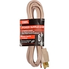 04195.60.17 Carol 04195.60.17 6 Air Conditioner Replacement Cord, 14awg 15a/125v - Beige