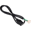 04530.73.01 Carol 04530.73.01 3 Sjt Power Supply Repl Cord w/Recpt. Only, 16awg 13a/125v