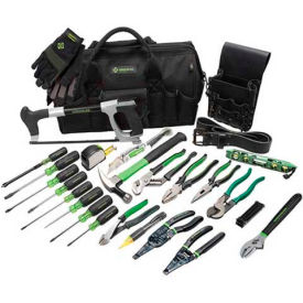 0159-11 Greenlee 0159-11 Master Electricians Tool Kit, 28 Piece