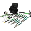 0159-12 Greenlee 0159-12 Journeymans Tool Kit, 17 Pc