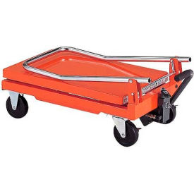 "HLH-100 HAMACO Standard Work Cart with Scissor Lift HLH-100 - 22.4""L x 13.8""W Table - 220 Lb. Capacity"