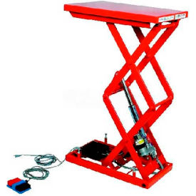 "MLM-100-56WV-12 HAMACO All-Electric Lift Table MLM-100-56WV-12 - 25.6"" x 19.7"" - 220 Lb. Cap. - SPM Motor"