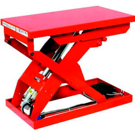 "MLP-500-810V-12 HAMACO All-Electric Lift Table MLP-500-810V-12 - 41.3""L x 31.5""W Table - 1102 Lb. Cap. - IPM Motor"