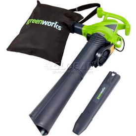 24072 GreenWorks; 150/235MPH Corded Blower / Vac