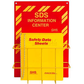 "3024 Horizon Mfg. English SDS Binder and Safety Station, 3024, 3""W"