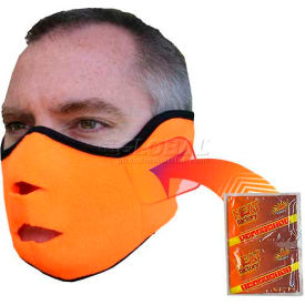 Heat Factory Heated Face Mask Blaze Orange, 1780-BO