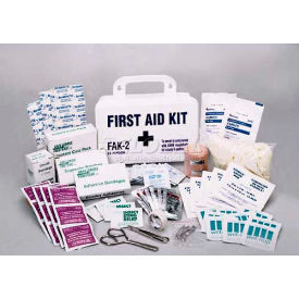 comfitwear® first aid kit for 25 people, plastic case
