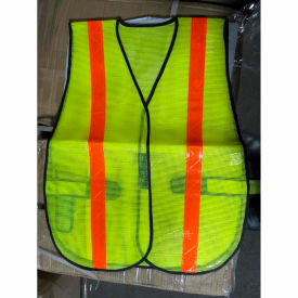 comfitwear® safety vest, lime, polyester, one size