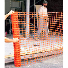 comfitwear® polyethylene safety fence, 4 x 50, orange