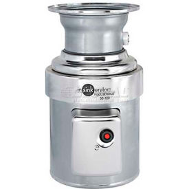 insinkerator ss-100 commercial garbage disposer only, 1 hp InSinkerator SS-100 Commercial Garbage Disposer Only, 1 HP