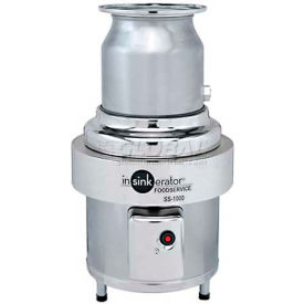 insinkerator ss-1000 commercial garbage disposer only, 10 hp InSinkErator SS-1000 Commercial Garbage Disposer Only, 10 HP
